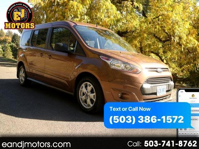 2014 Ford Transit Connect Wagon XLT w/Rear Liftgate LWB