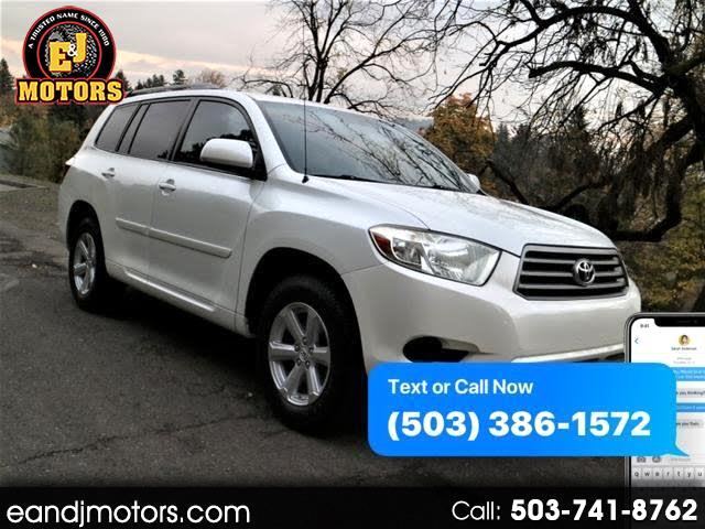 2009 Toyota Highlander V6 4WD with Third Row Seat