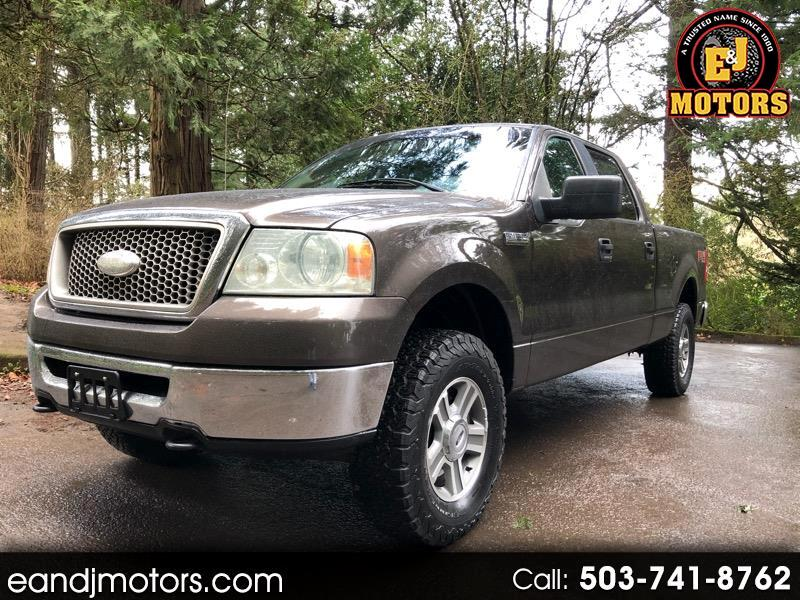 """Ford F-150 4WD SuperCrew 145"""" FX4 2006"""
