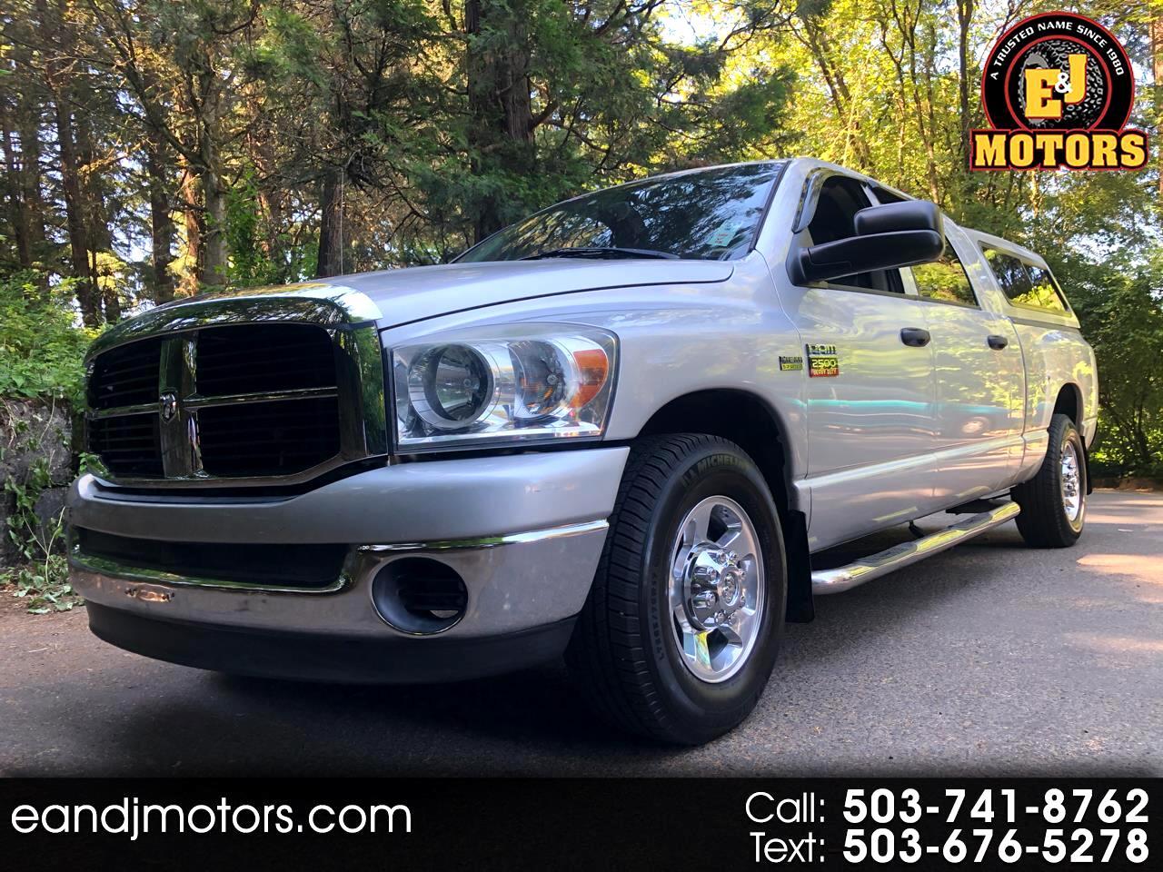 "Dodge Ram 2500 2WD Crew Cab 169"" SLT 2008"