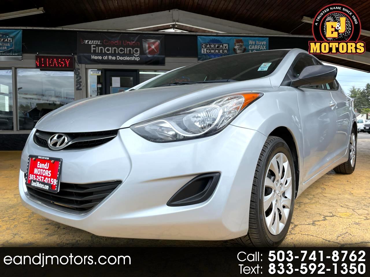 Hyundai Elantra 4dr Sdn Auto GLS (Alabama Plant) *Ltd Avail* 2013