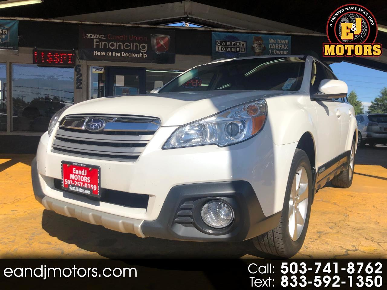 Subaru Outback 4dr Wgn H4 Auto 2.5i Limited 2014