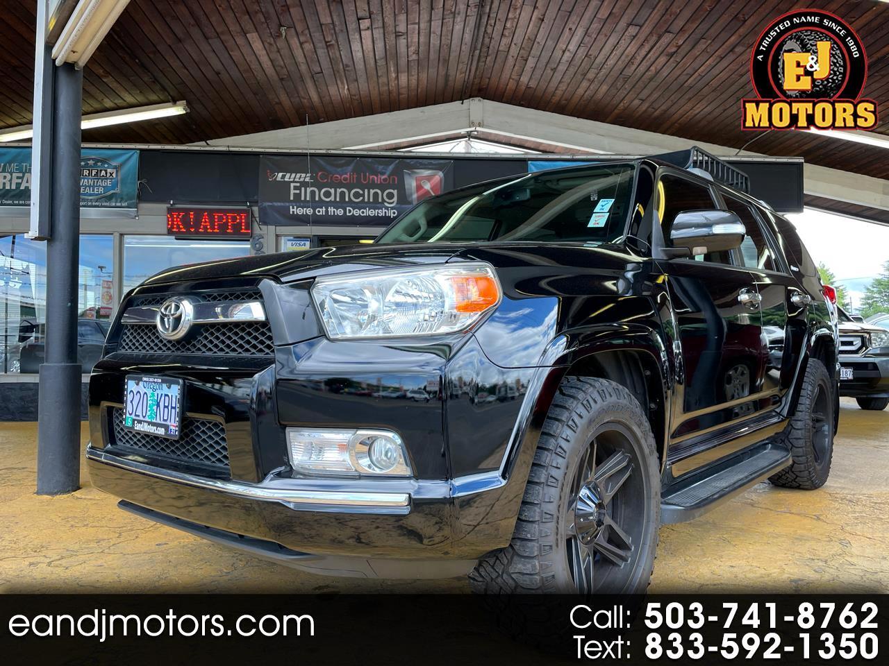 Toyota 4Runner 4WD 4dr V6 Limited (Natl) 2010