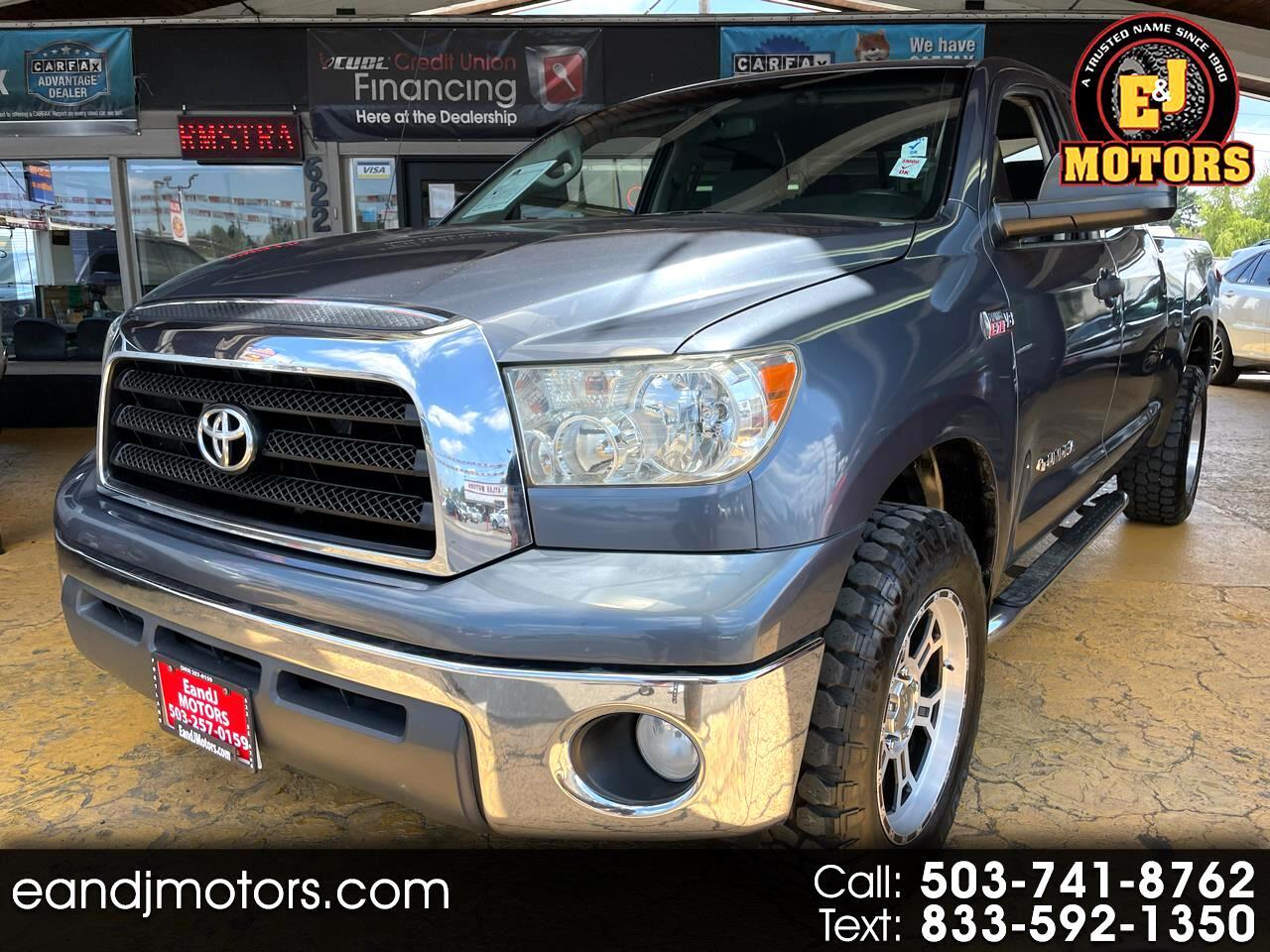 Toyota Tundra 2WD Truck Dbl 5.7L V8 6-Spd AT (Natl) 2008