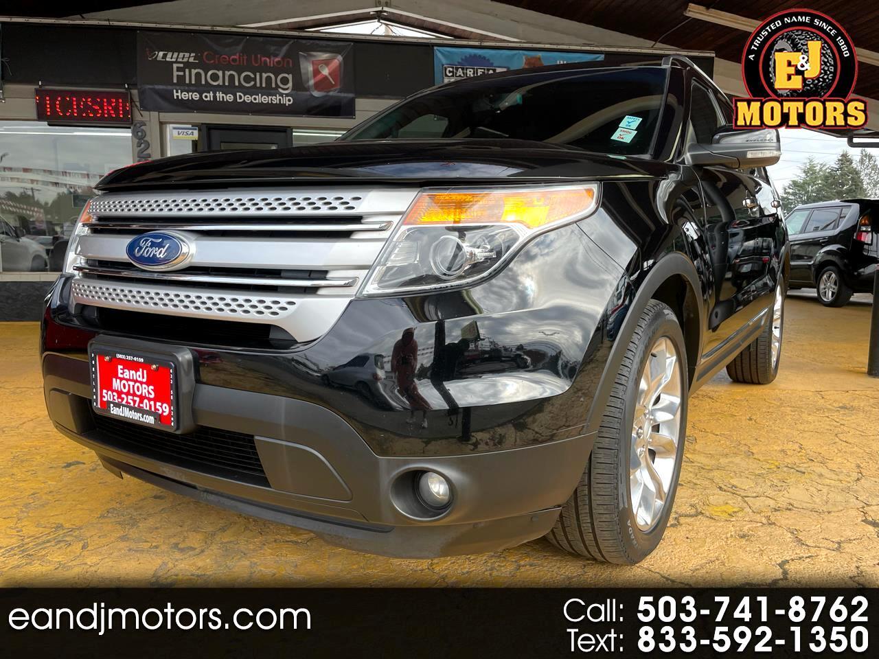 Ford Explorer 4WD 4dr XLT 2012