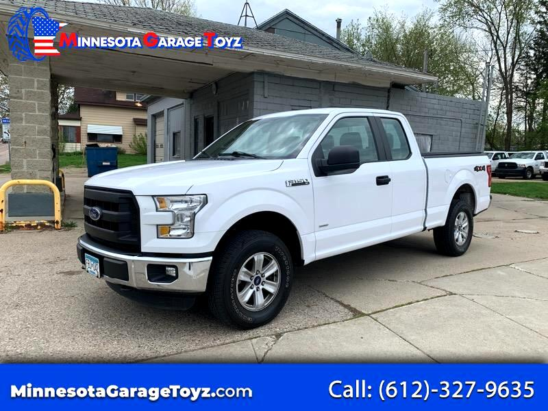 Ford F-150 XL SuperCab 6.5-ft. Bed 4WD 2015