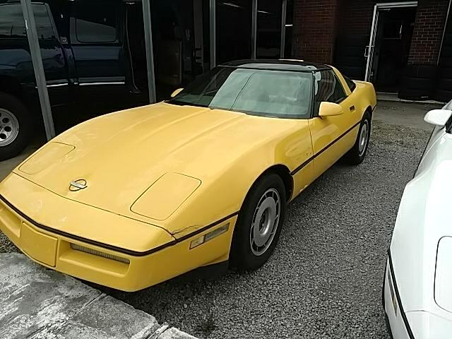 1987 Chevrolet Corvette Hatchback