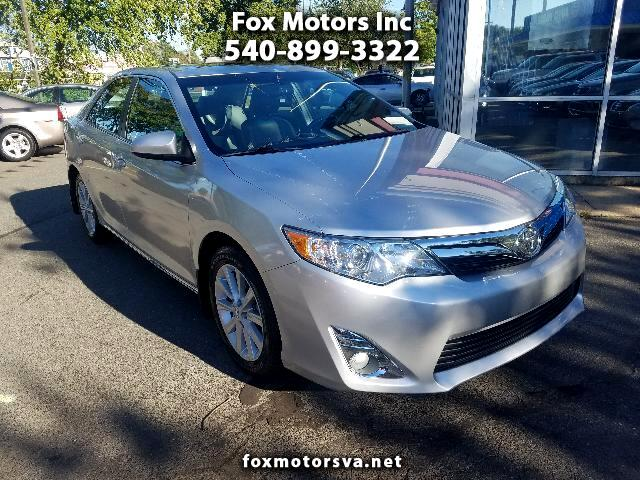 2012 Toyota Camry 4dr Sdn I4 Auto XLE (Natl)