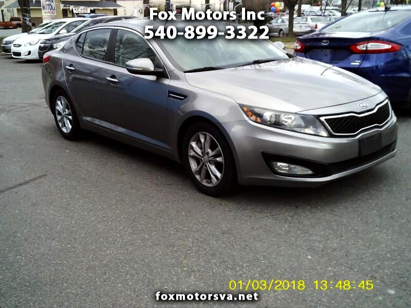 Kia Optima EX Turbo 2012
