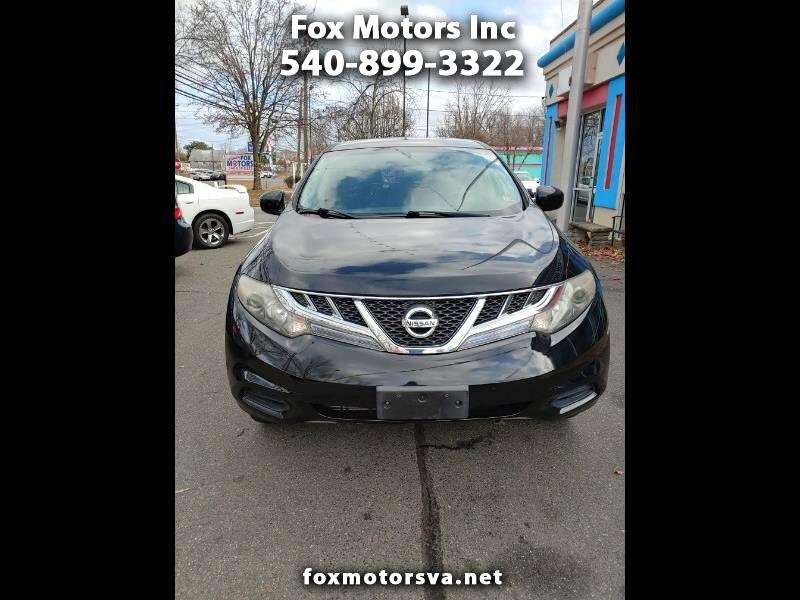 Nissan Murano 4dr S FWD V6 2011