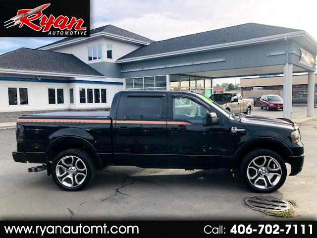 "2008 Ford F-150 4WD SuperCrew 145"" Harley-Davidson"