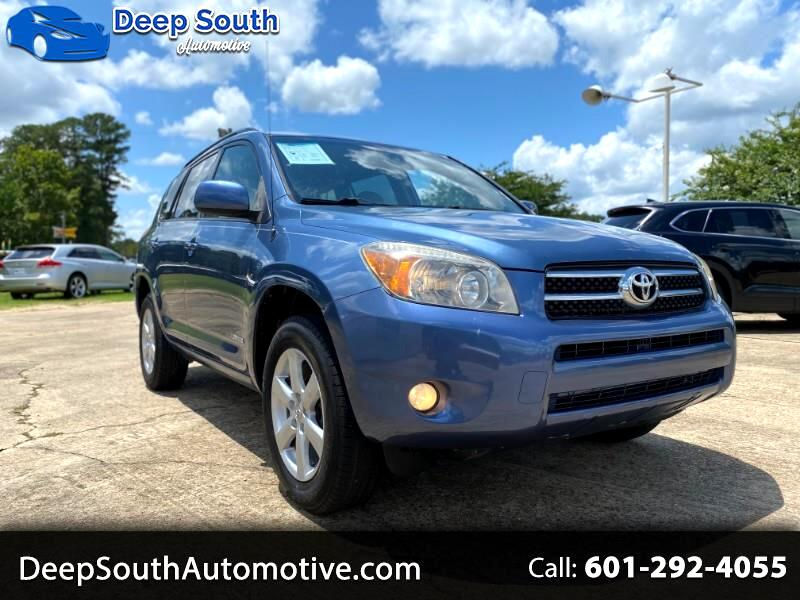 Toyota RAV4 Limited I4 2WD 2008