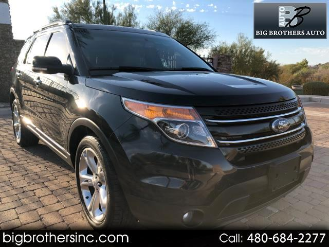 2015 Ford Explorer Limited 4-Door 2WD