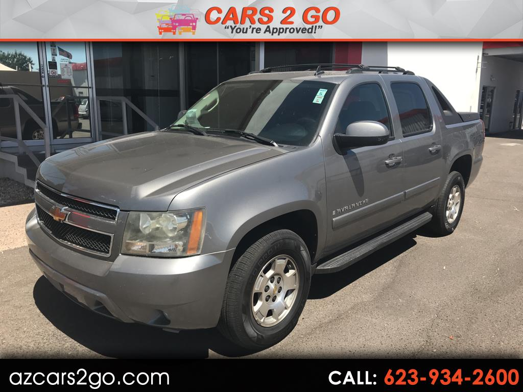 "2007 Chevrolet Avalanche 2WD Crew Cab 130"" LT w/1LT"