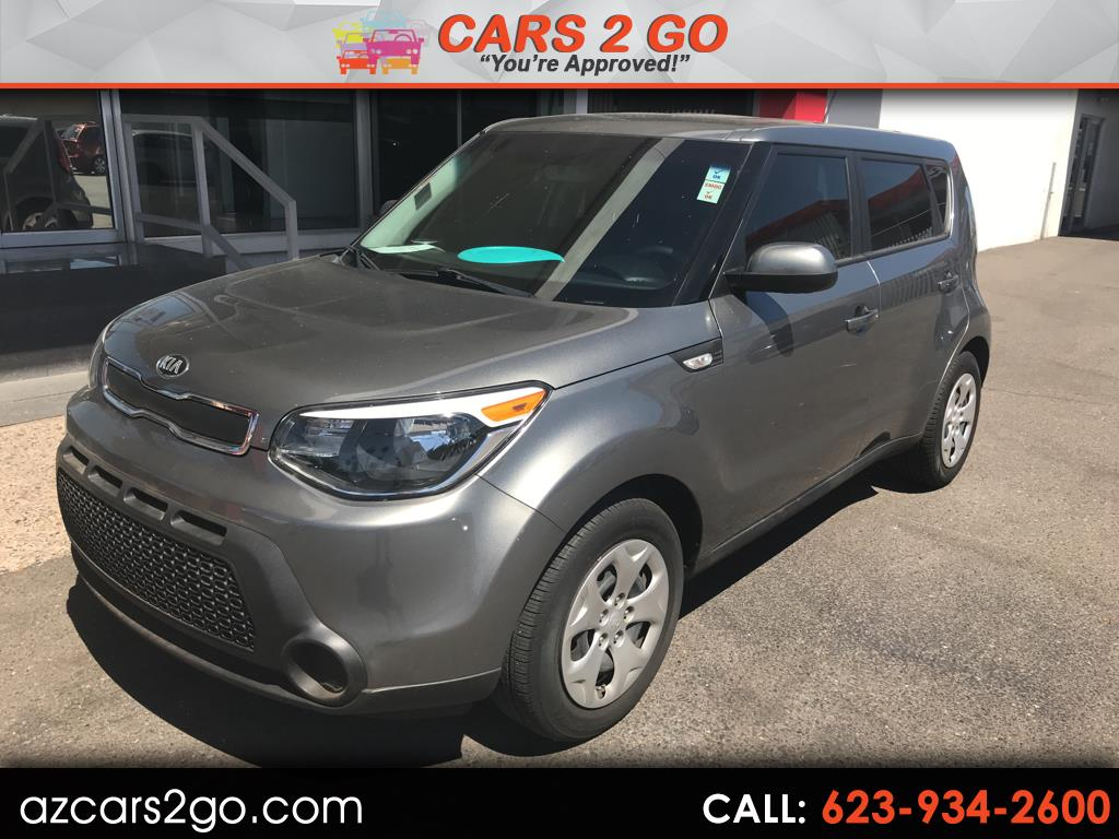 2014 Kia Soul 5dr Wgn Man Base