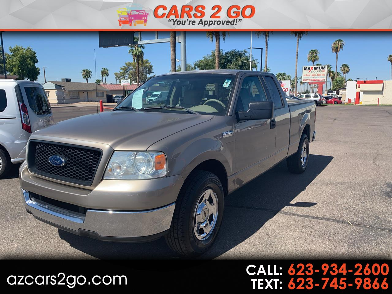 "2005 Ford F-150 Supercab 133"" STX"