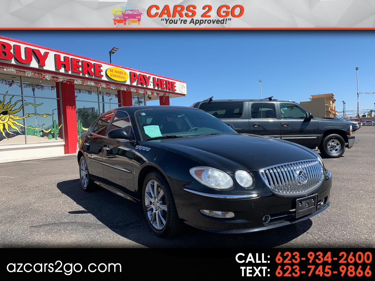 2008 Buick LaCrosse 4dr Sdn Super