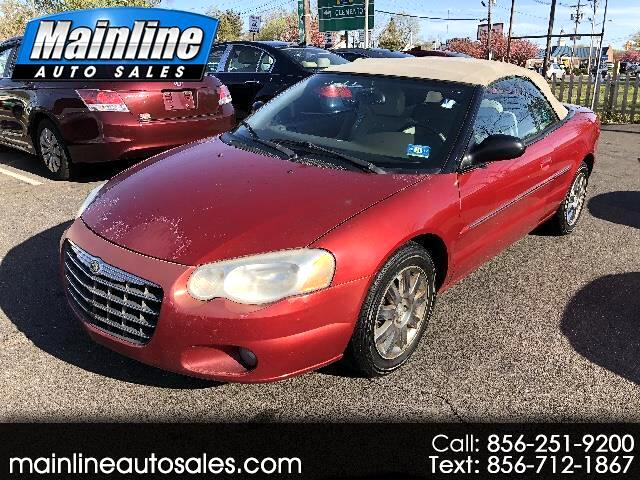 2005 Chrysler Sebring Limited Convertible