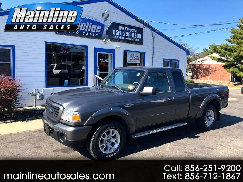 2009 Ford Ranger 4wd ext cab sport