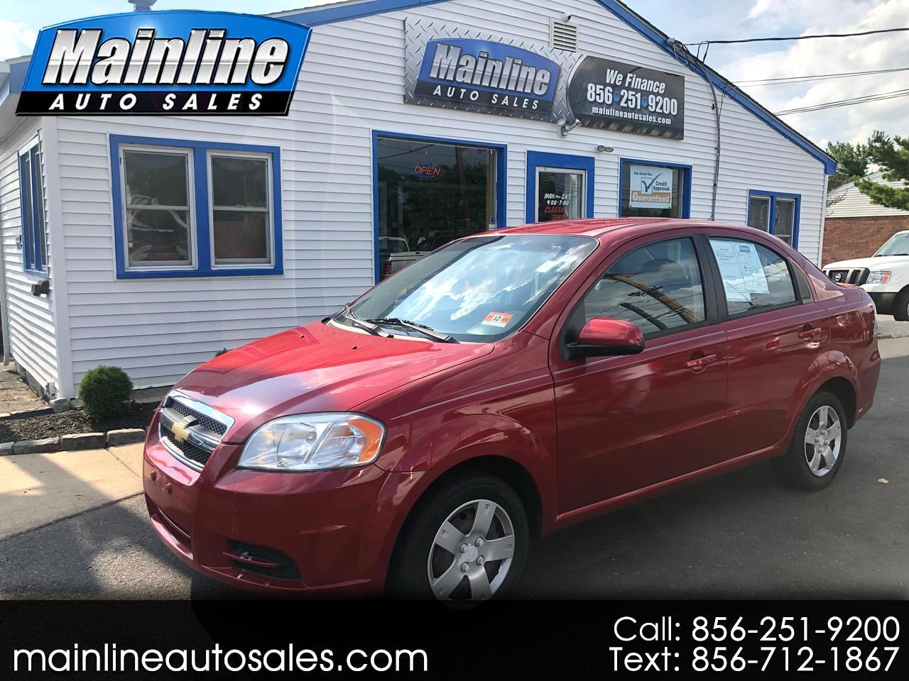 2011 Chevrolet Aveo 4dr Sdn LT w/1LT