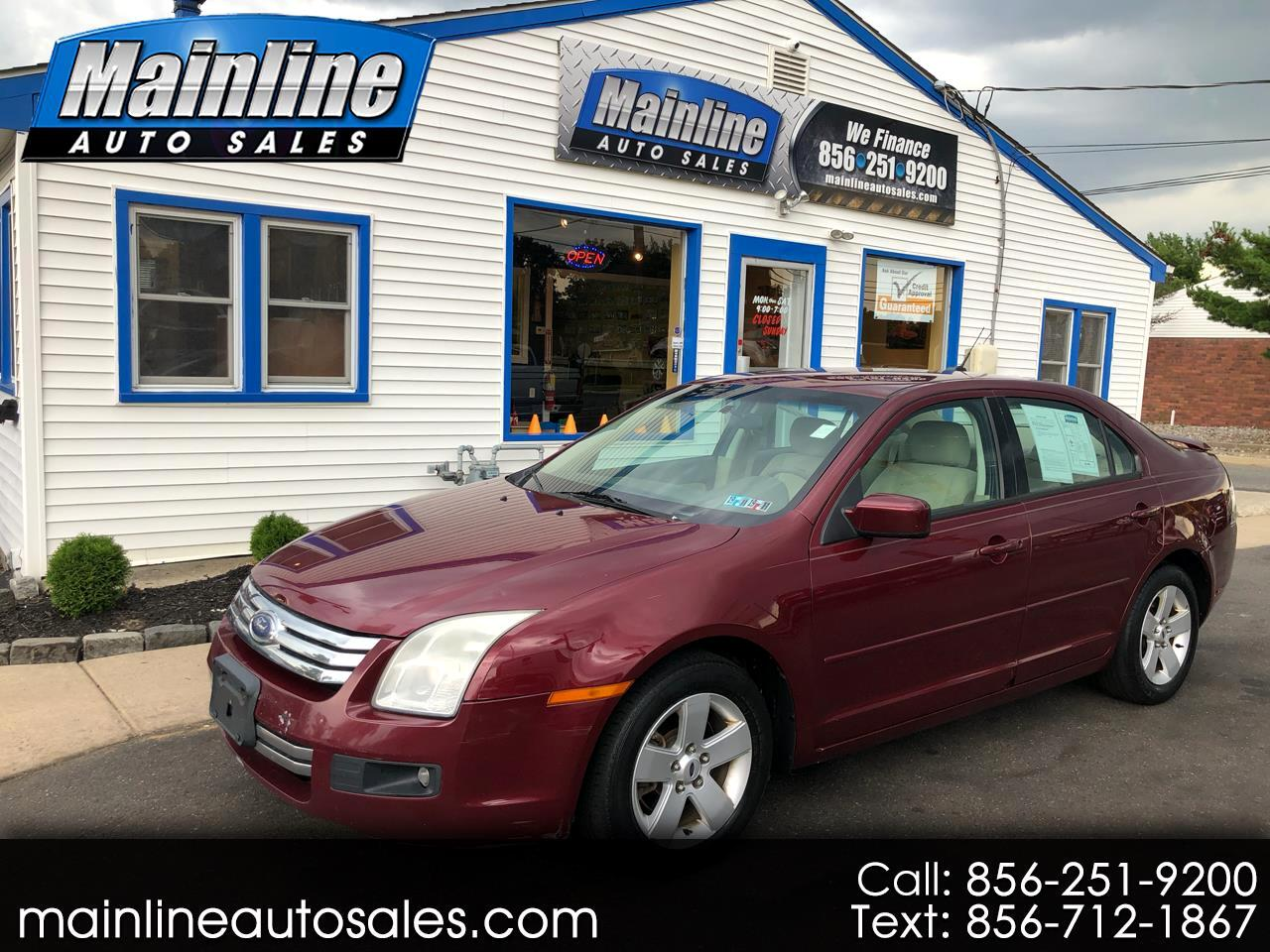 2007 Ford Fusion 4dr Sdn I4 SE FWD