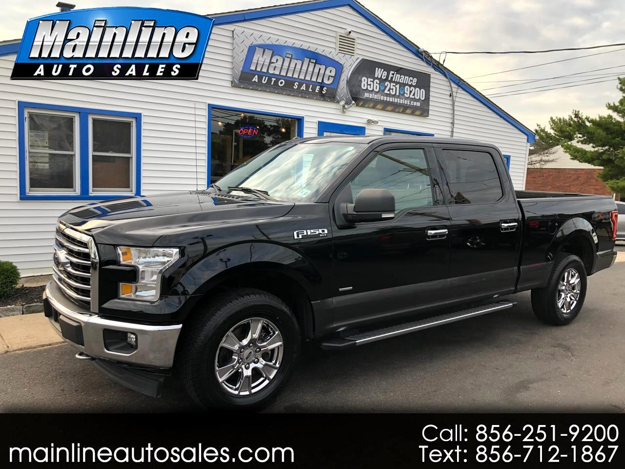 2017 Ford F-150 4X4 4DR XLT