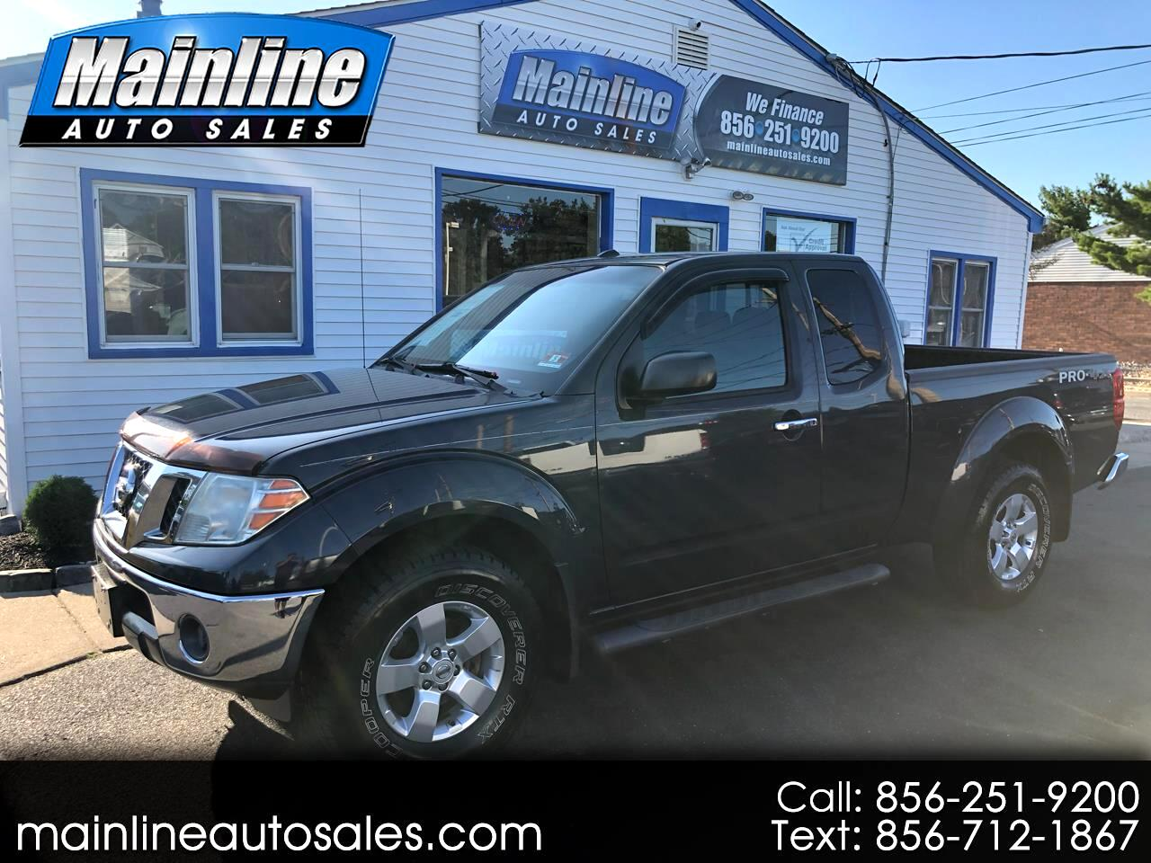 2011 Nissan Frontier 4WD King Cab Auto SV