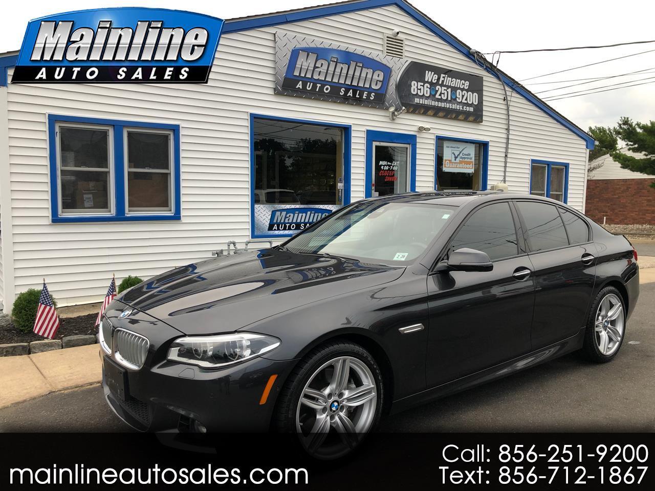 2015 BMW 5 Series 4DR SDN 550I XDRIVE MSPORT