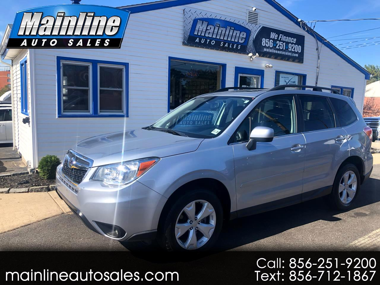 2016 Subaru Forester 4dr Auto 2.5X Limited