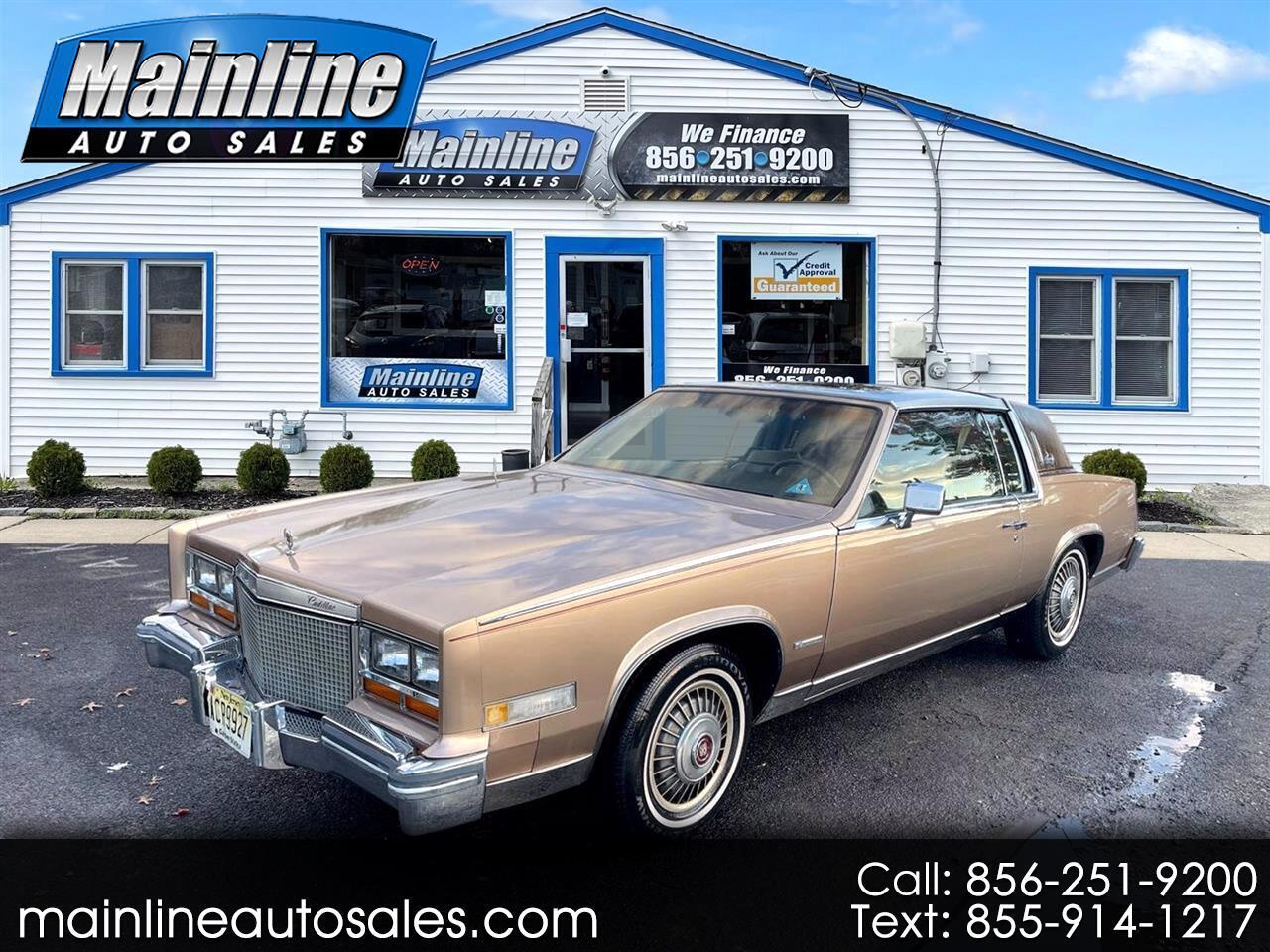 Cadillac Eldorado 2dr Coupe 1981