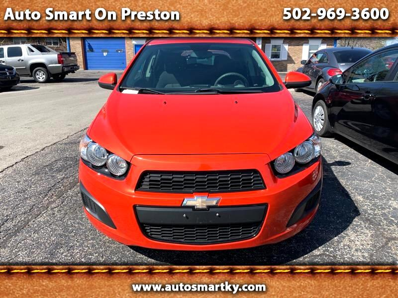 2013 Chevrolet Sonic LT Manual 5-Door