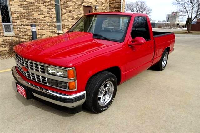 1990 Chevrolet C/K 1500 Reg. Cab W/T 8-ft. bed 2WD