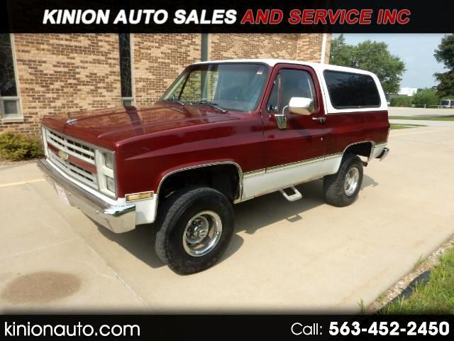 1987 Chevrolet K Blazer K1500 4WD