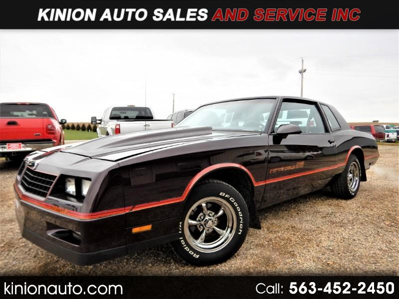 1986 Chevrolet Monte Carlo 2dr Coupe Sport SS