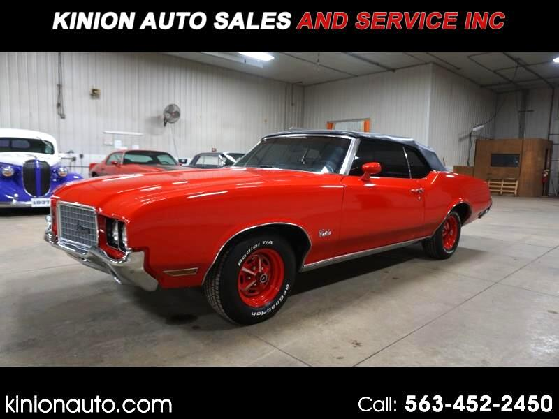 Oldsmobile Cutlass Convertible 1972