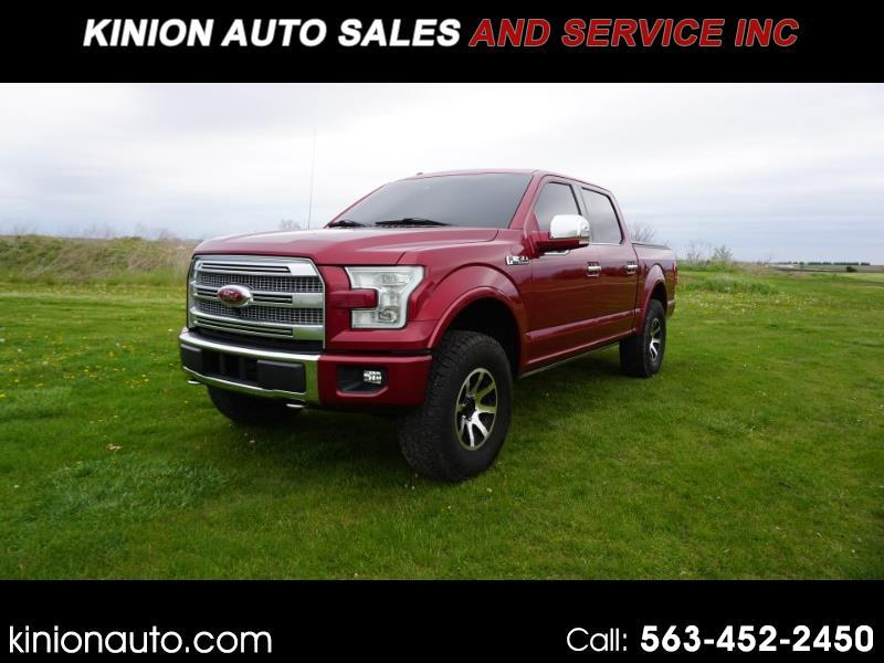 Ford F-150 Platinum SuperCrew 6.5-ft. Bed 4WD 2015