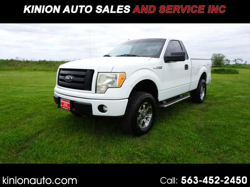 Ford F-150 STX 6.5-ft. Bed 4WD 2012