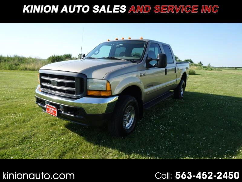 Ford F-350 SD XLT Crew Cab Short Bed 4WD 2001
