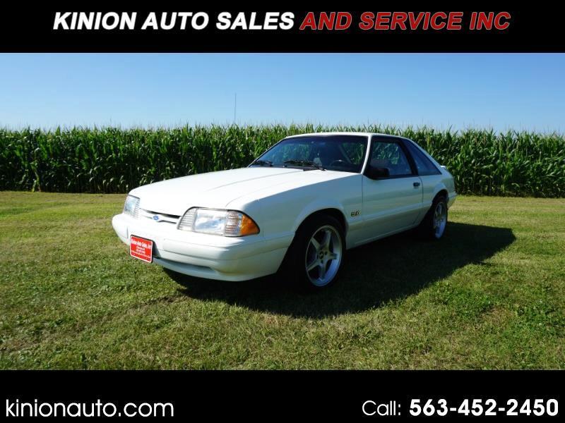Ford Mustang LX 5.0L hatchback 1993