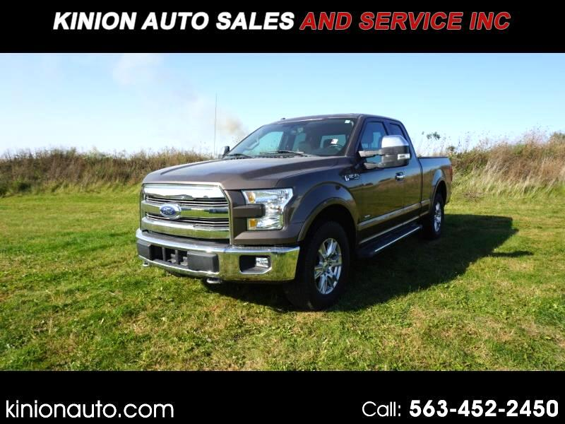 Ford F-150 Lariat SuperCab 6.5-ft. 4WD 2016