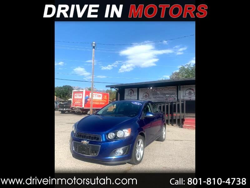 Chevrolet Sonic LTZ Auto Sedan 2014