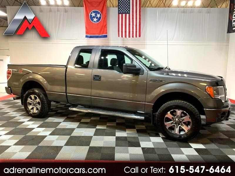 "Ford F-150 4WD SuperCab 133"" STX 2014"