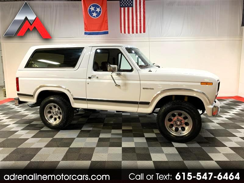 Ford Bronco 4WD 1984