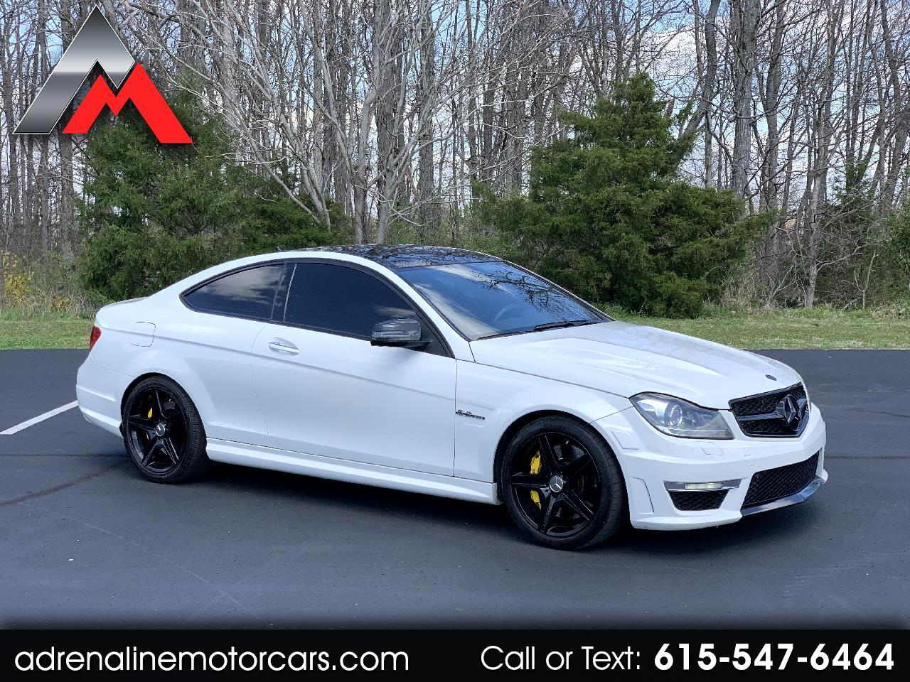 Mercedes-Benz C-Class C63 AMG Coupe 2012