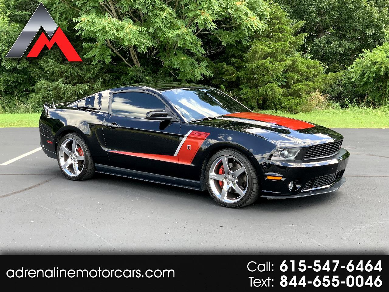 Ford Mustang Roush Coupe Supercharged 2012