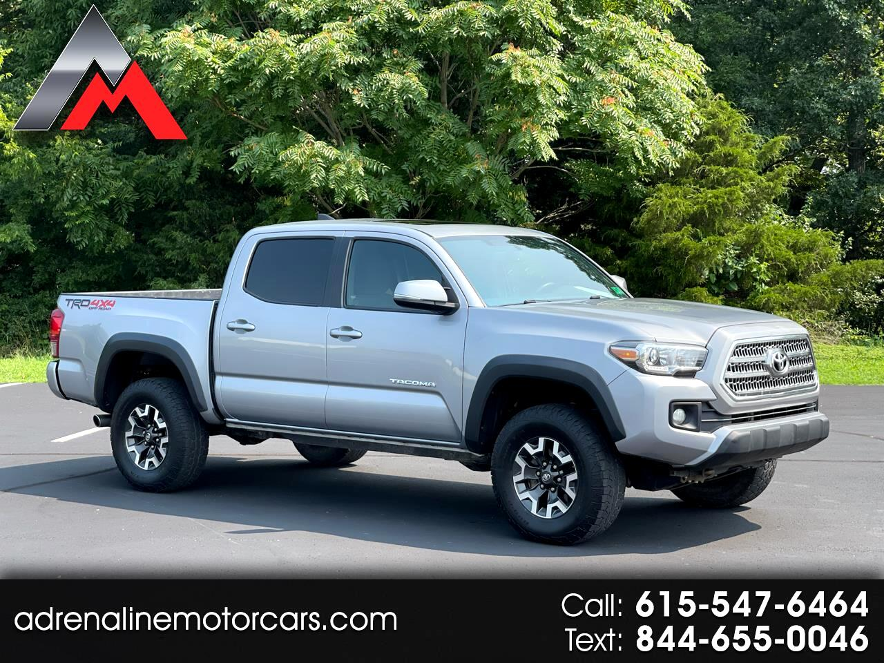 Toyota Tacoma TRD Offroad Double Cab 4WD V6 2017