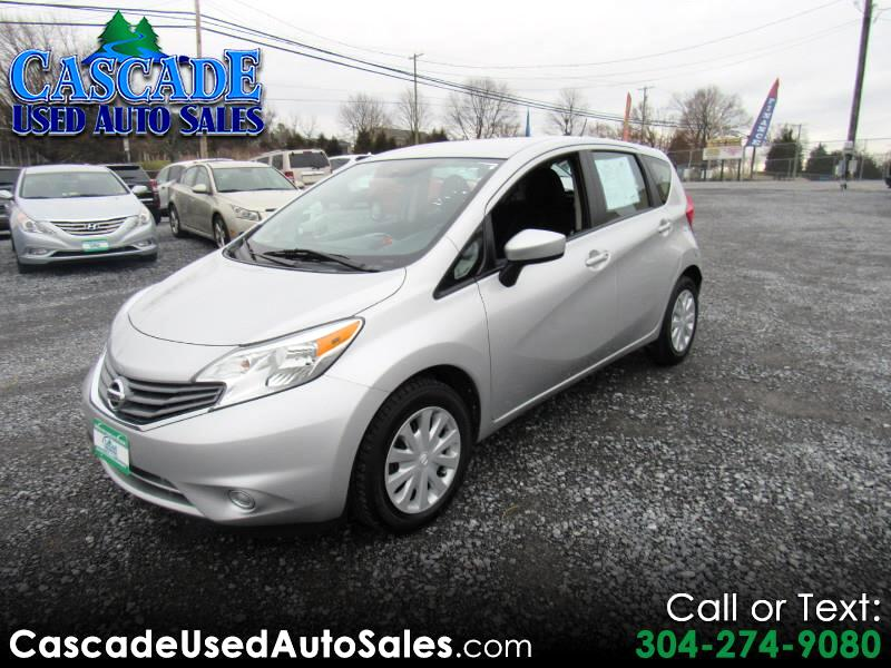 used 2016 nissan versa note sv for sale in martinsburg wv 25404 cascade used auto sales. Black Bedroom Furniture Sets. Home Design Ideas