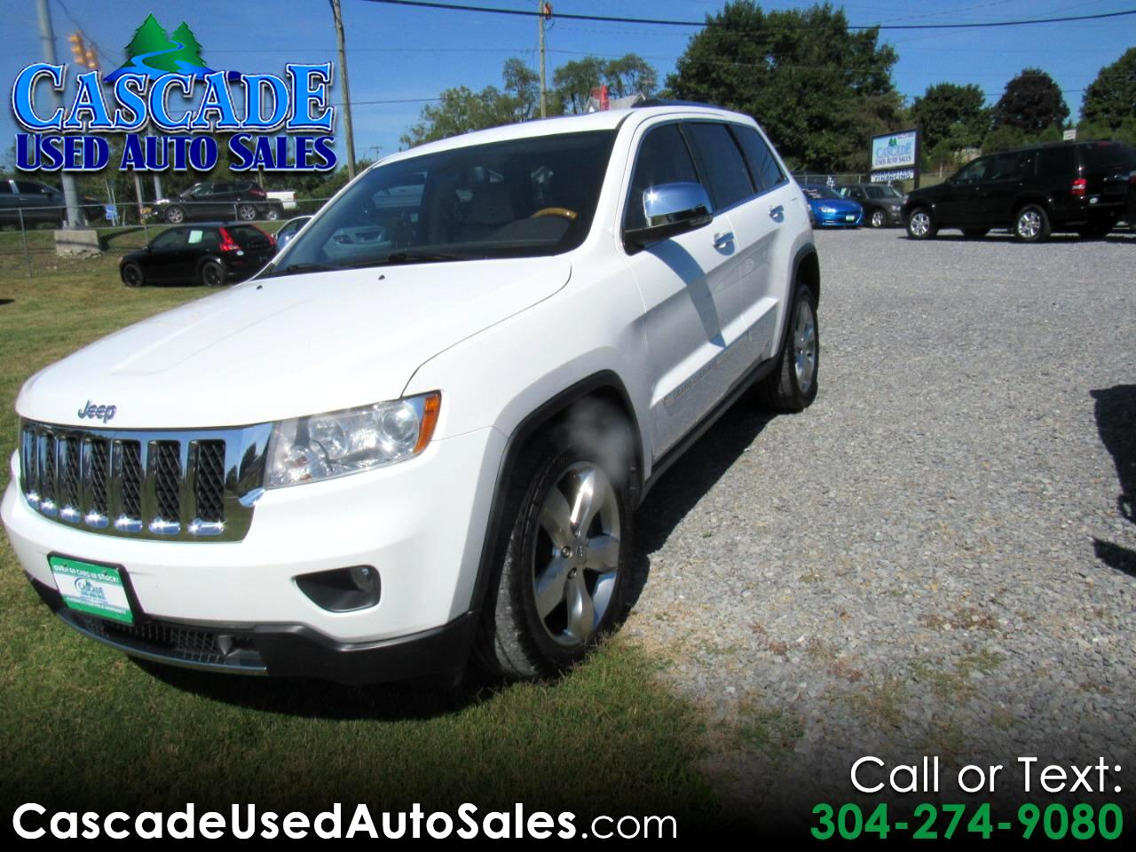2013 Jeep Grand Cherokee 4dr Overland 4WD
