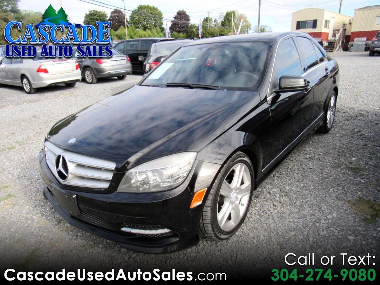 2011 Mercedes-Benz C-Class 4dr Luxury Sdn 3.0L 4MATIC