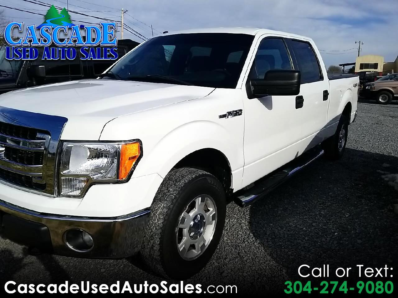 "Ford F-150 4WD SuperCrew 139"" XLT 2014"
